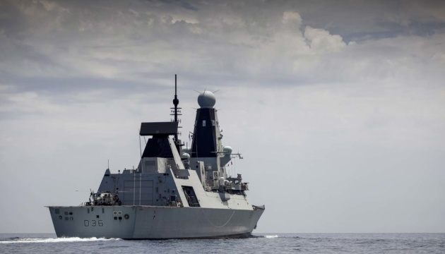 Міноборони Британії заявило, що військові РФ не стріляли по британському есмінцю