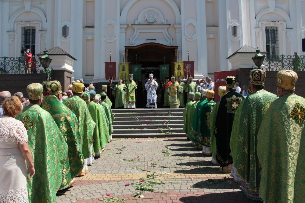 У Луцьку відзначили престольне свято кафедрального собору