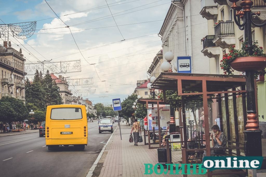 Приміські автобуси не зможуть більше курсувати низкою проспектів та вулиць Луцька