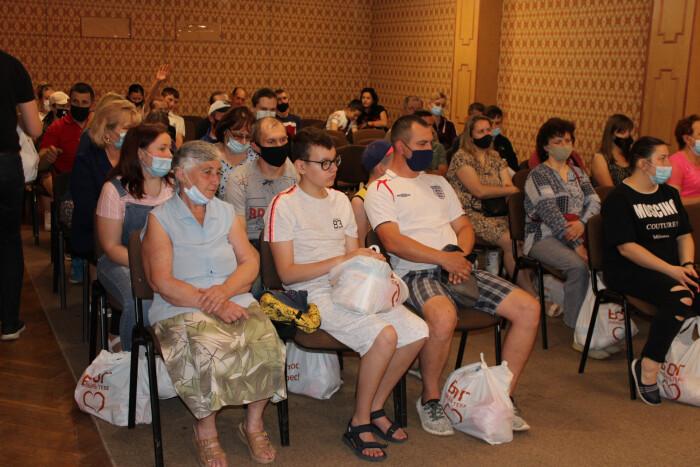 У Луцьку 40 сімей учасників АТО отримали продуктові набори