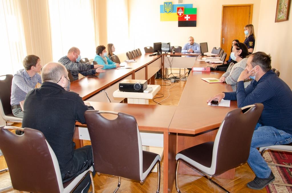 У Нововолинську радилися з балансоутримувачами захисних споруд