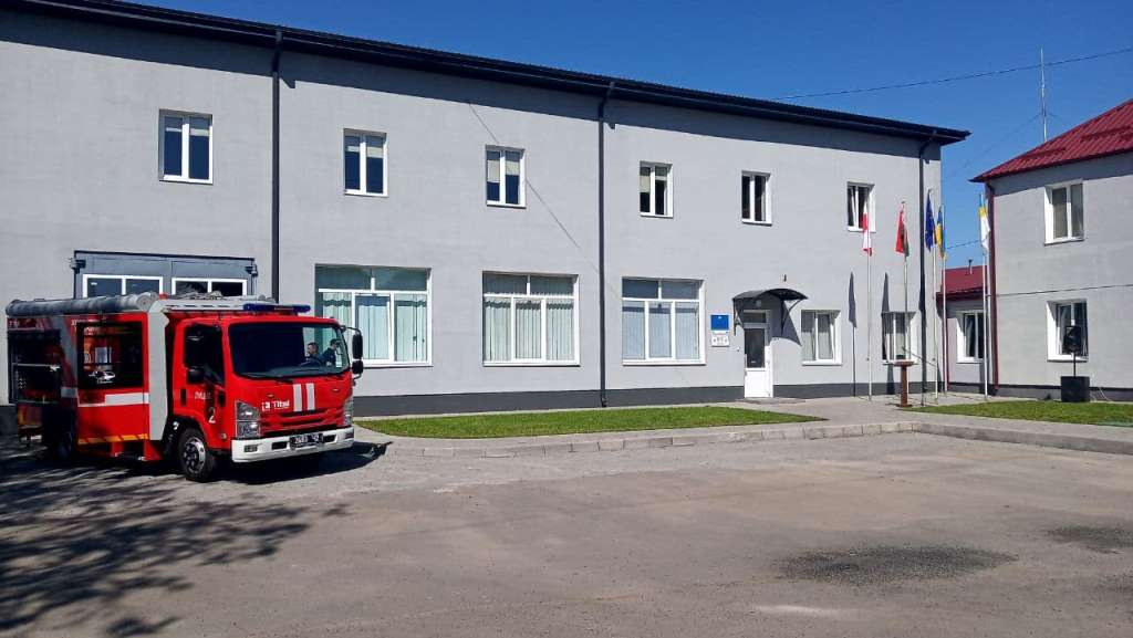 У Луцьку презентували сучасний тренінговий комплекс рятувальників