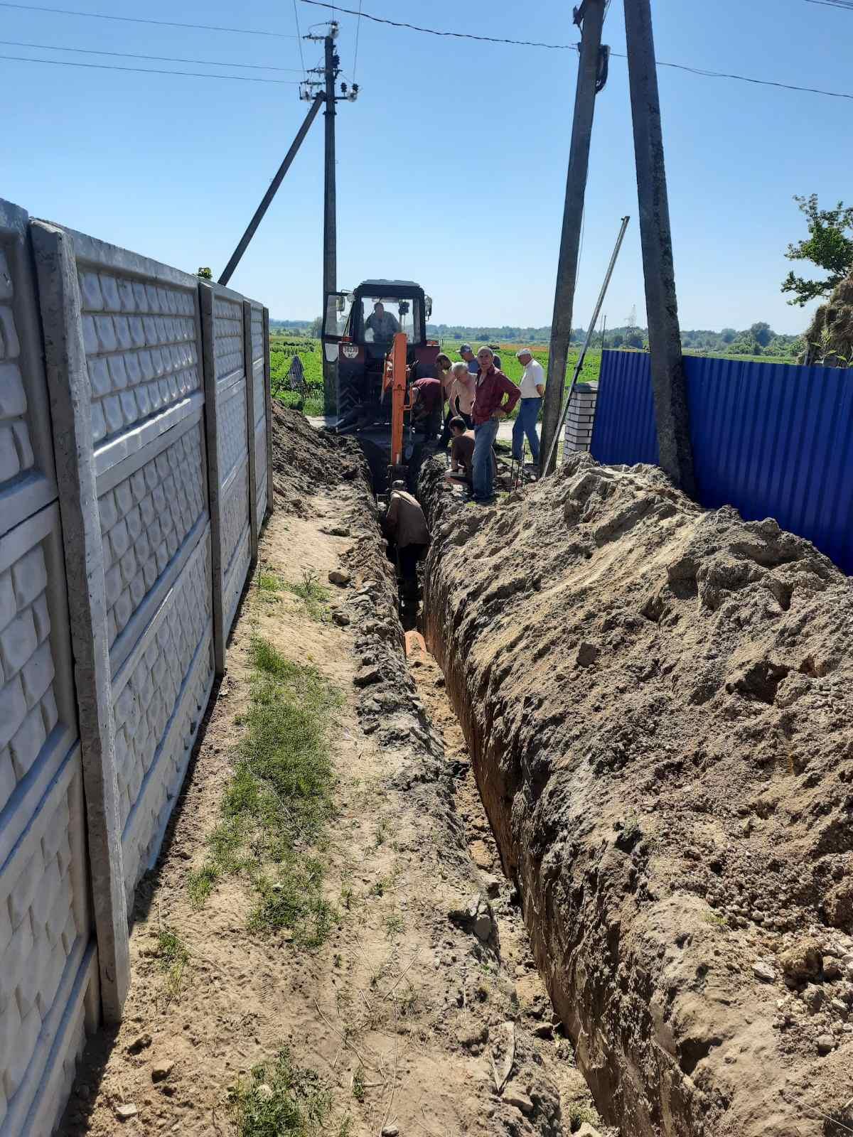 У Старій Вижівці відремонтували каналізаційну систему