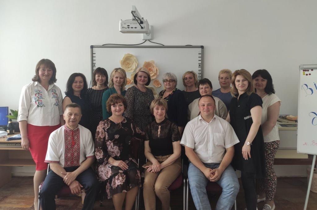 У Володимирі-Волинському підбили підсумки перших ста днів роботи Центру професійного розвитку педагогічних працівників