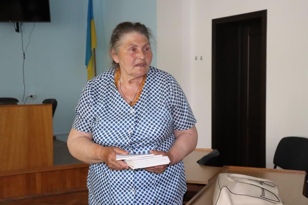 У Володимирі презентували збірку віршів та обговорили майбутнього пам'ятника на зустрічі із вдовами загиблих бійців