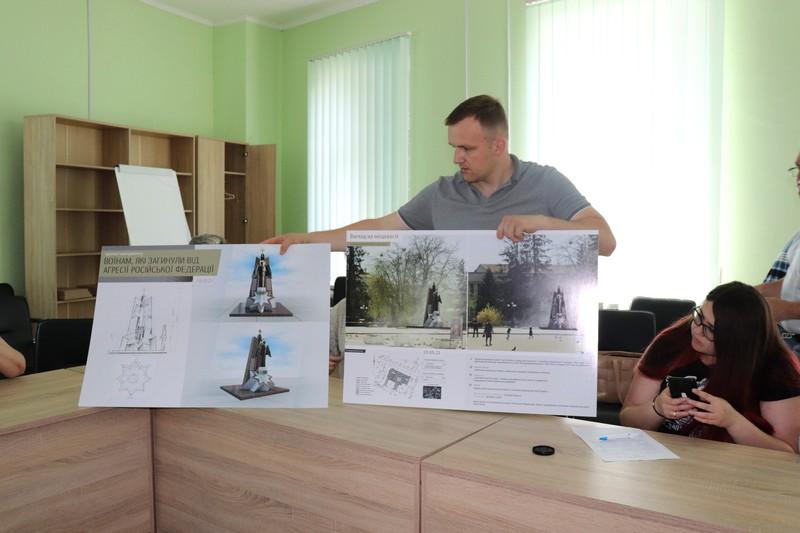 У Володимирі-Волинському відхилили усі чотири проекти монументу загиблим на Сході воїнам