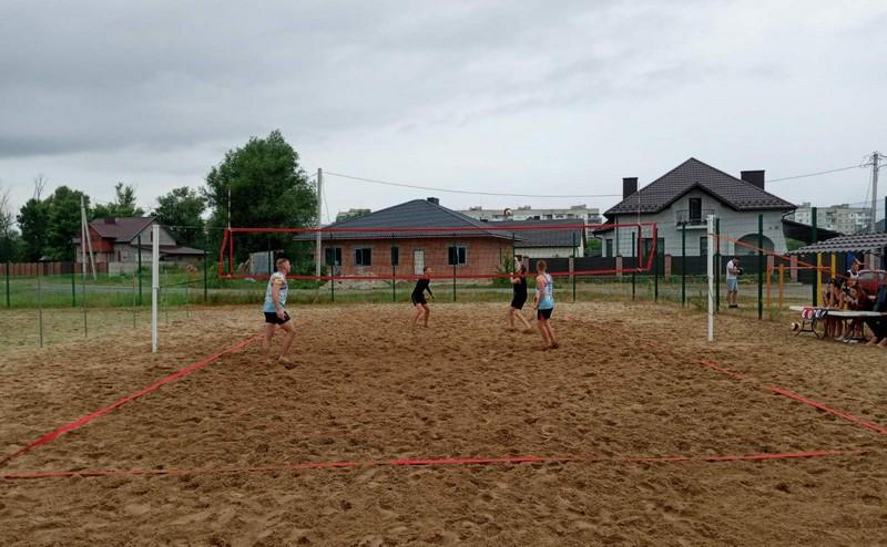 На майданчиках ковельської набережної відбувся турнір з пляжного волейболу