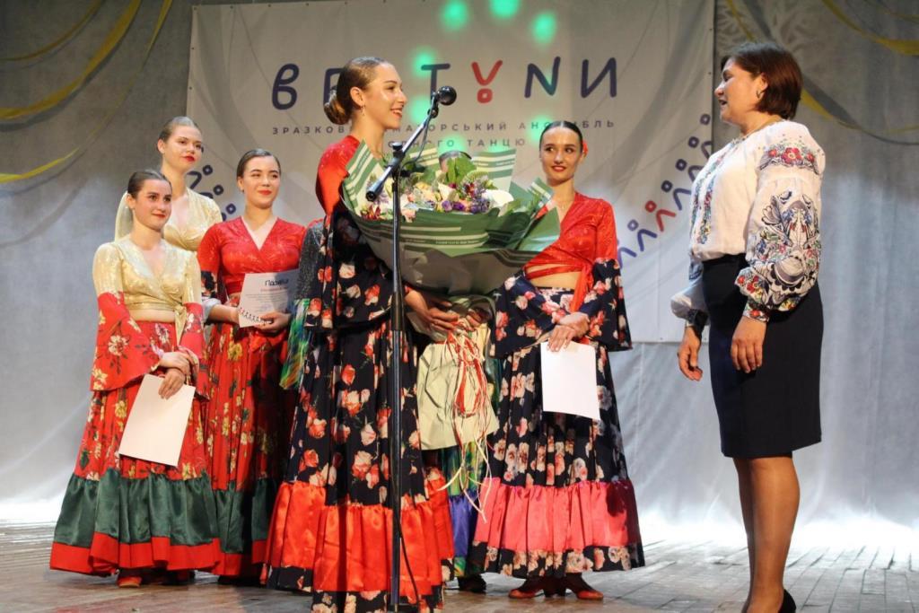 Ансамбль народного танцю зі села поблизу Луцька відзначив десятиріччя