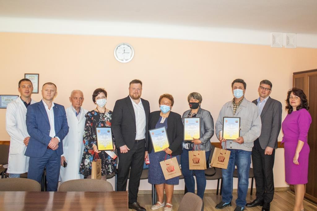 У Нововолинську вітали донорів крові