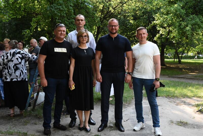 У Луцьку обговорили проект ремонту прибудинкової території на проспекті Соборності