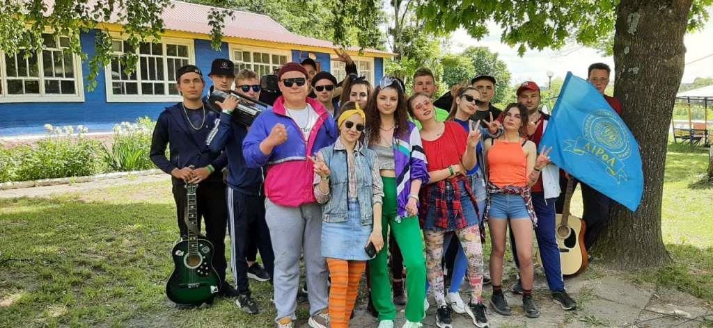 На території Підгайцівської громади відкрили фестиваль «Студентська республіка – 2021»