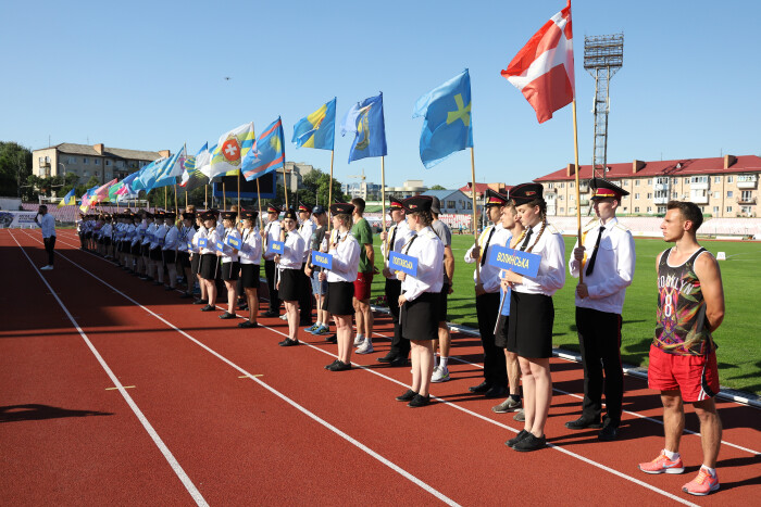У Луцьку стартував Чемпіонат України з легкої атлетики 2021
