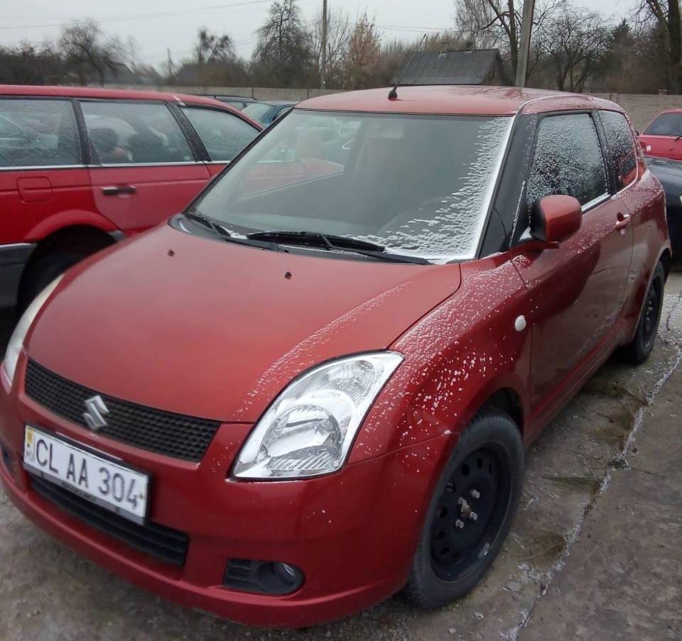 Волинська митниця з аукціону продає авто марки Suzuki