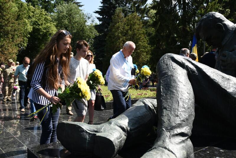 Лучани вшанували пам'ять жертв Другої світової війни