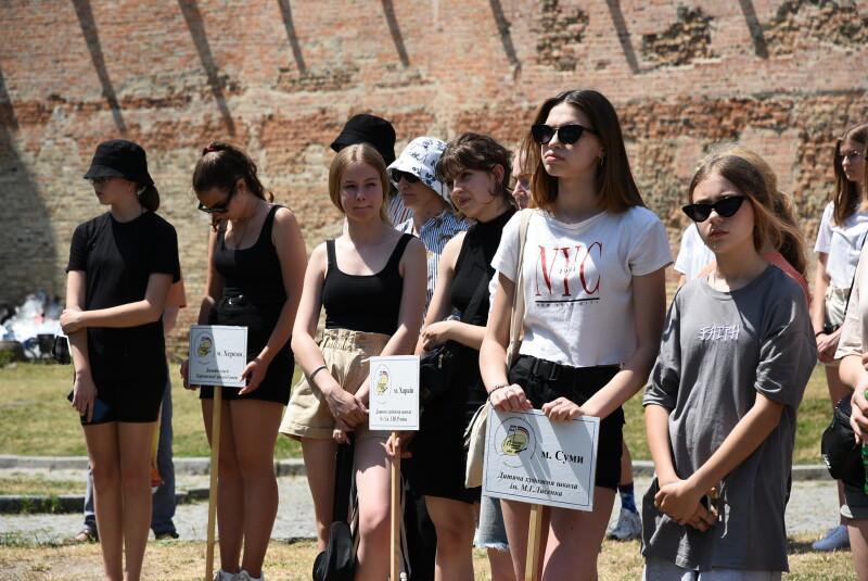 У Луцькому замку розпочався всеукраїнський конкурс-пленер