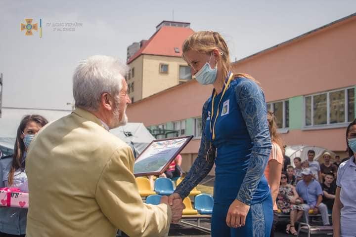 Волинські рятувальники здобули золоті нагороди у перший день Чемпіонатів із пожежно-прикладного спорту