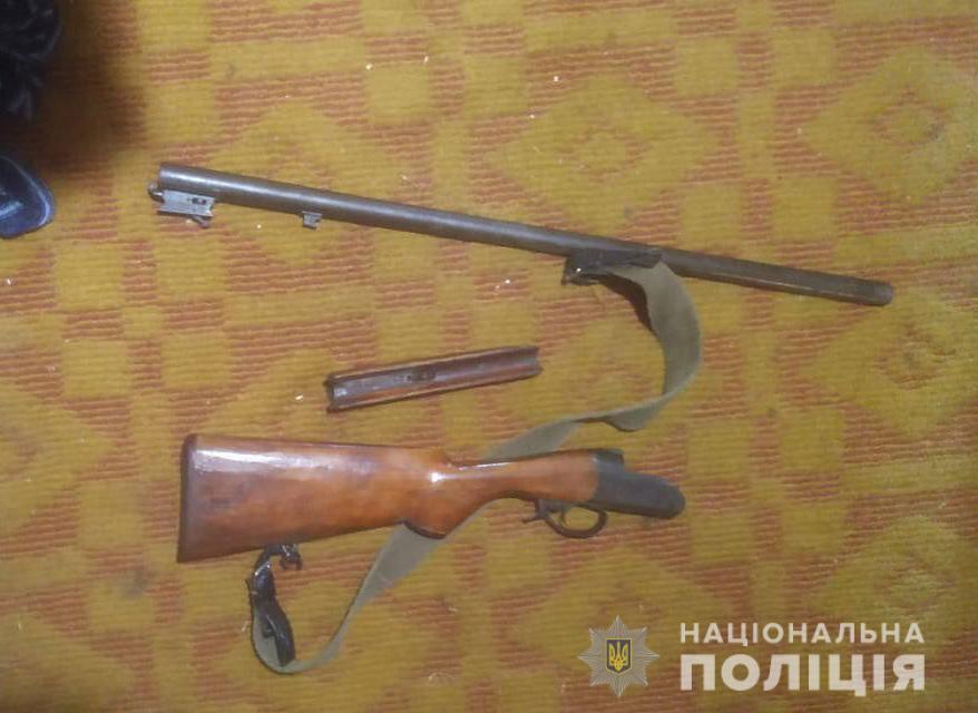 На Волині провели обшуки в осіб, причетних до незаконного зберігання зброї