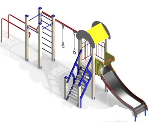 У Берестечківській громаді витратять понад 100 тисяч на елементи дитячого майданчика