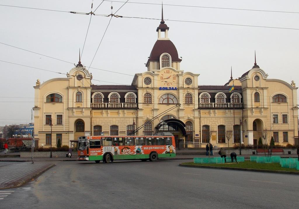 У Луцьку відновлюють рух тролейбусів за двома маршрутами
