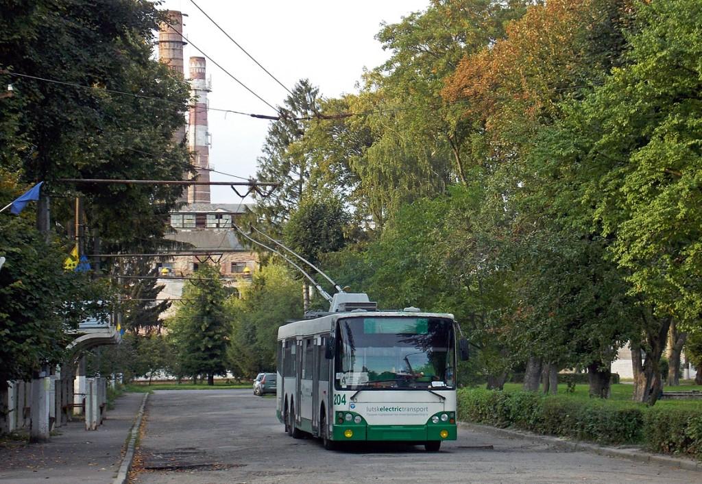 У Луцьку тимчасово змінили рух тролейбусів за двома маршрутами