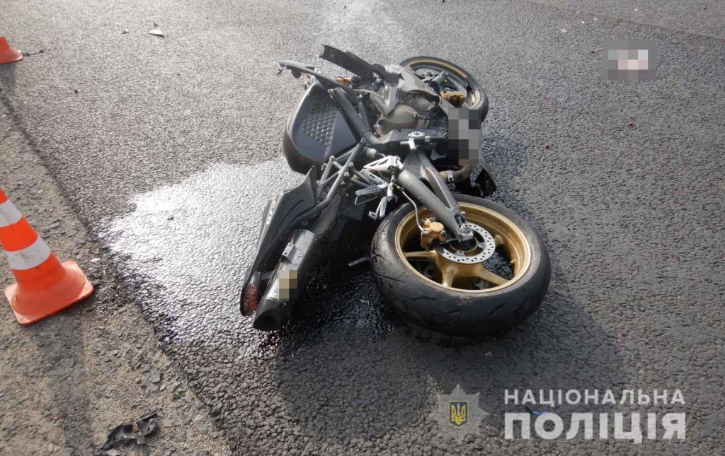 На Волині загинув 19-річний мотоцикліст