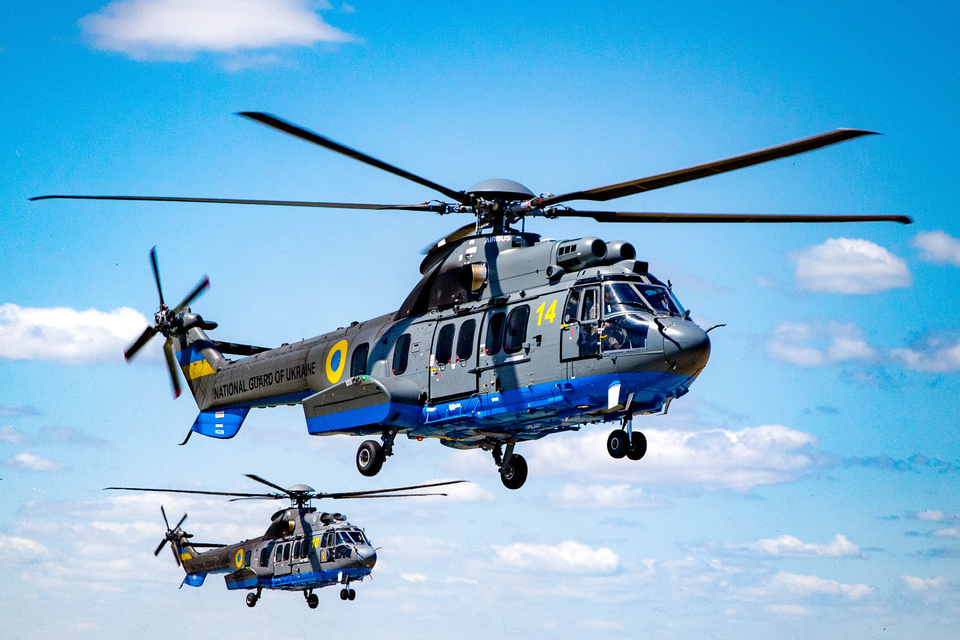 Підготовка до параду: гелікоптери Airbus почали тренувальні польоти над Хрещатиком