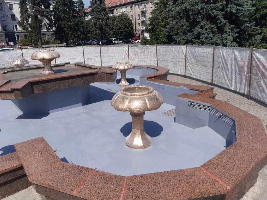 Обслуговування фонтану на проспекті Волі у Луцьку коштуватиме понад 100 тисяч