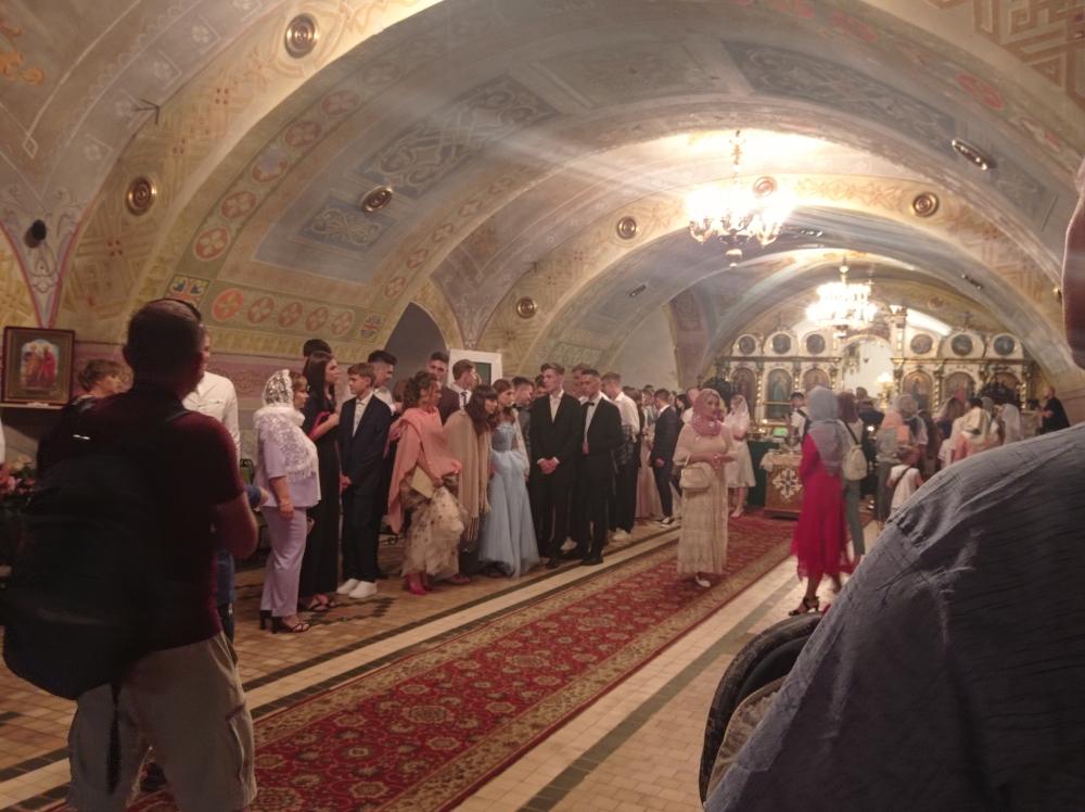 Духовенство Волинської єпархії ПЦУ вітало випускників