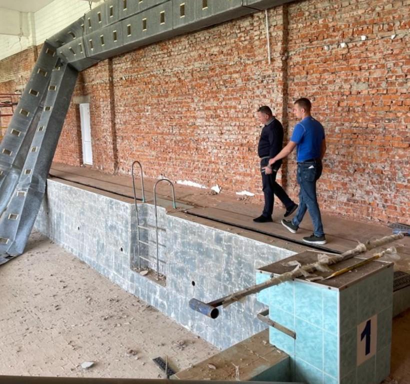 У Луцькому НТУ розпочали капітальний ремонт приміщення басейну