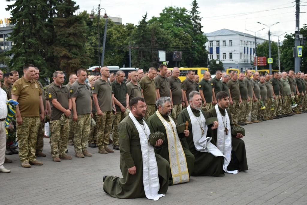 У центрі Луцька вшановували пам'ять загиблих Героїв