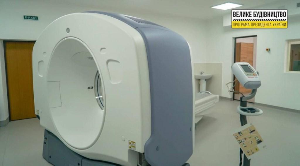 У Нововолинській ЦМЛ встановили комп'ютерний томограф