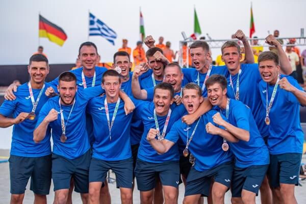 Волиняни – бронзові призери чемпіонату Європи з пляжного гандболу