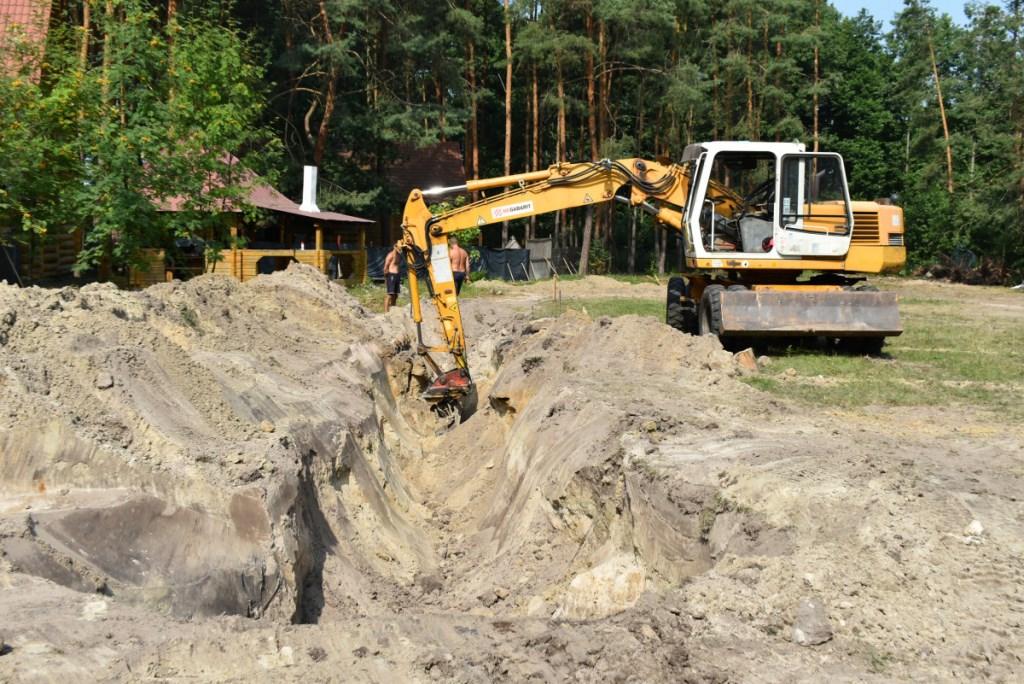 На базі практики комплексу «Гарт» на Світязі розпочали будівництво спорткомплексу