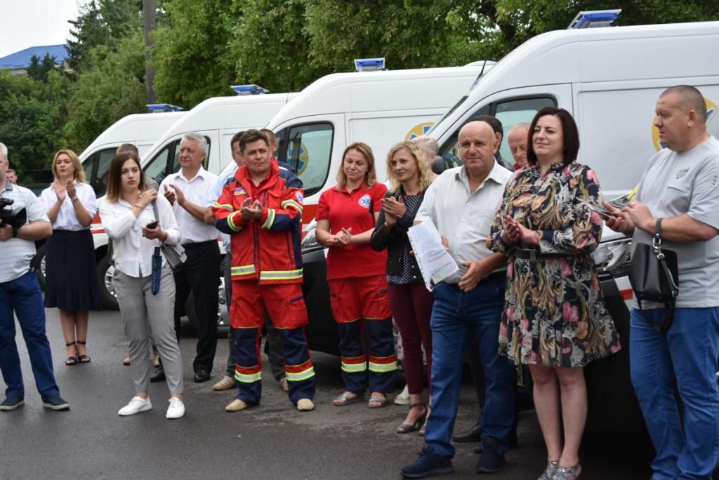 Автопарк Волинського обласного центру екстреної медичної допомоги повністю оновили