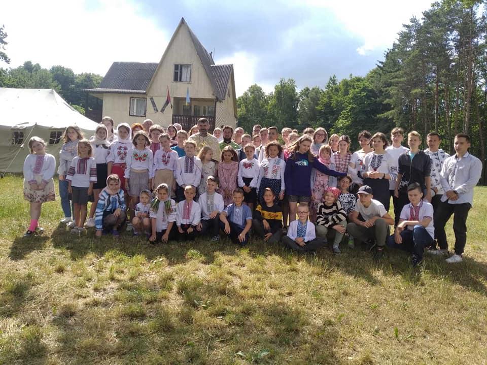 На Волині організували молодіжний єпархіальний табір