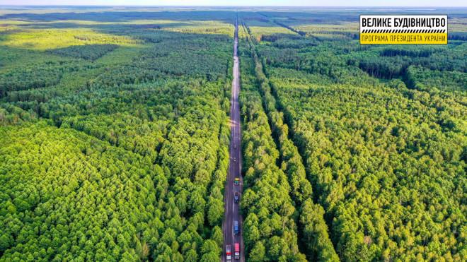 Реконструкція дороги М-19 на Волині: роботи тривають на ділянці поблизу пункту пропуску «Доманове»
