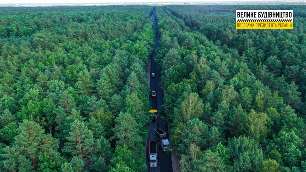 На Волині відновлюють автошлях M-19 на ділянці поблизу села Сільце