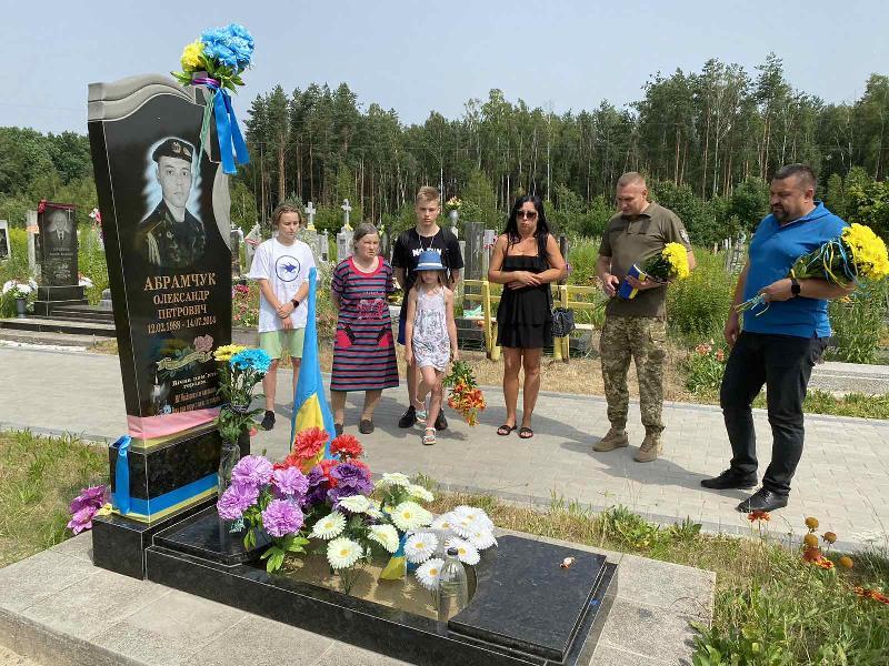 Вшанували пам'ять загиблого на Сході ковельчанина