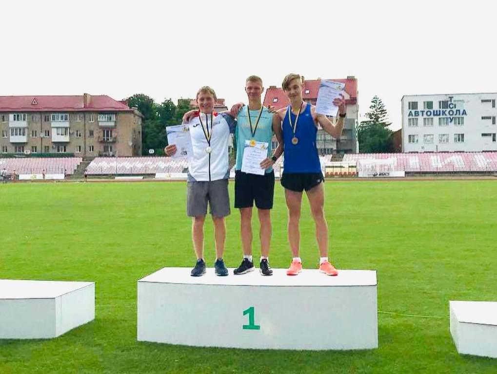 Волинські спортсмени-юніори стали переможцями чемпіонату України  з легкої атлетики