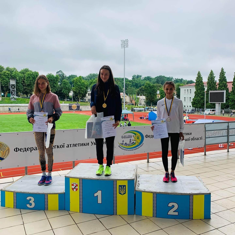 Волинські легкоатлети завоювали низку медалей на чемпіонаті України