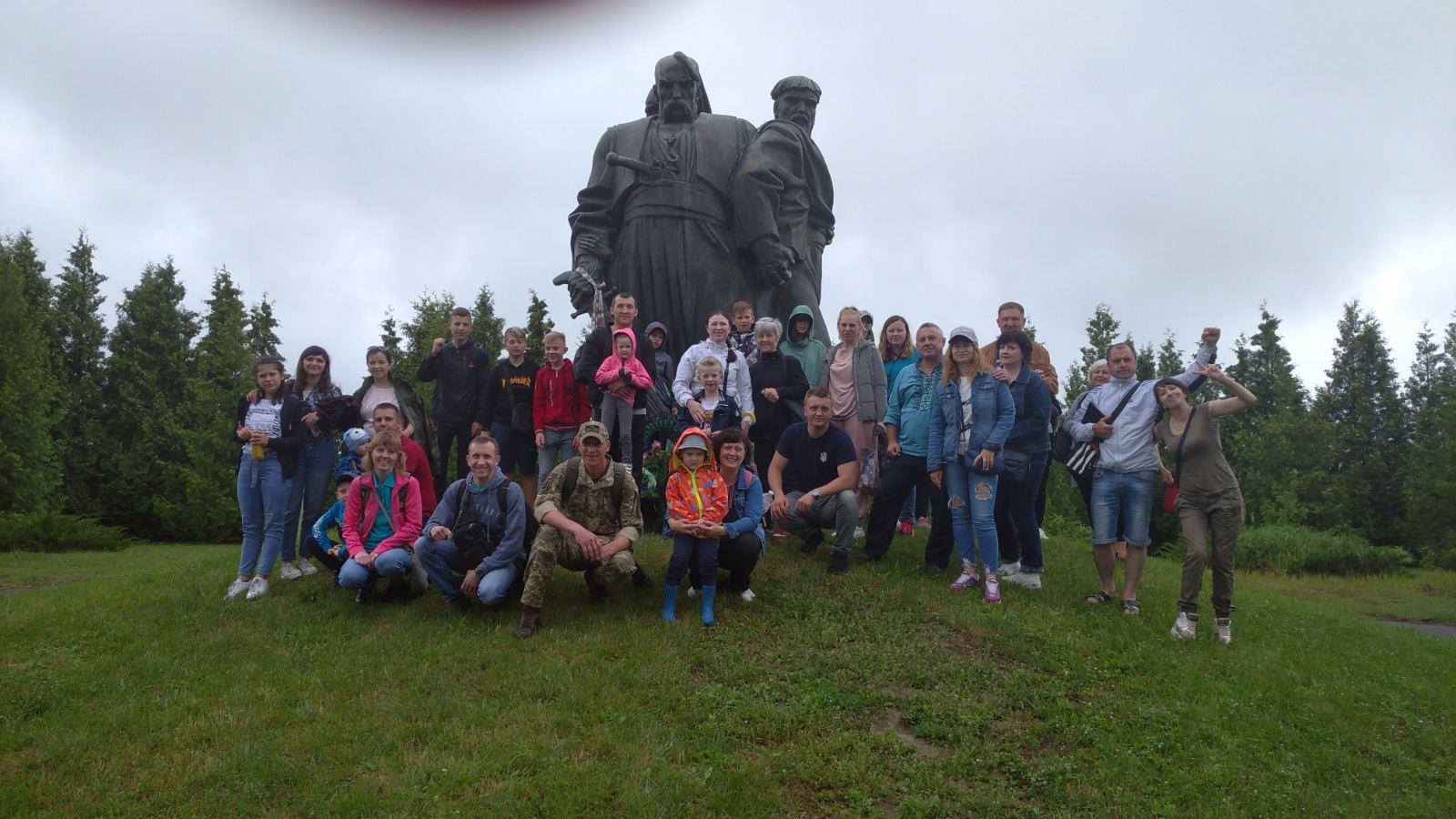 Для дітей військовослужбовців організували поїздку до місць, де проходила Берестецька битва