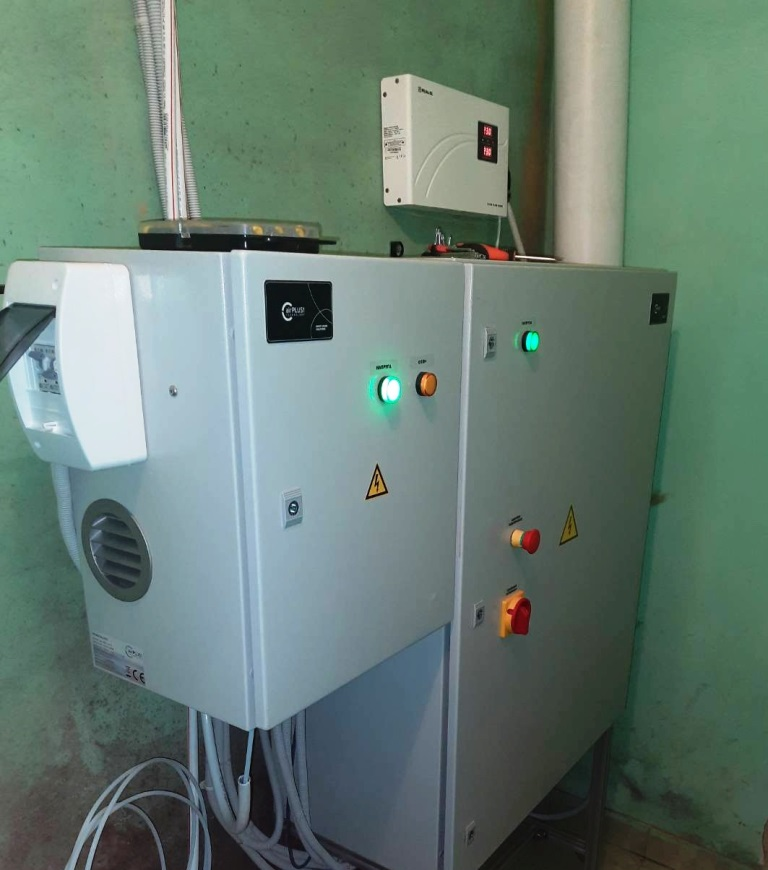 На найбільших каналізаційно-насосних станціях Луцька встановили системи озонування для очистки повітря від забруднення