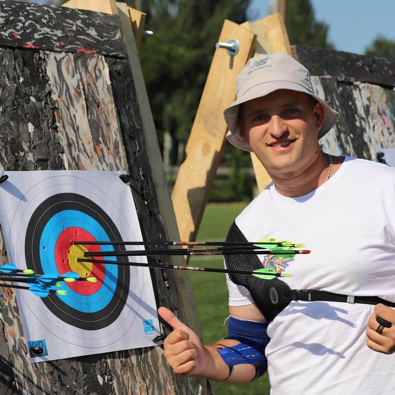 Волинянин здобув третє місце у стрільбі з лука на «Іграх Нескорених»