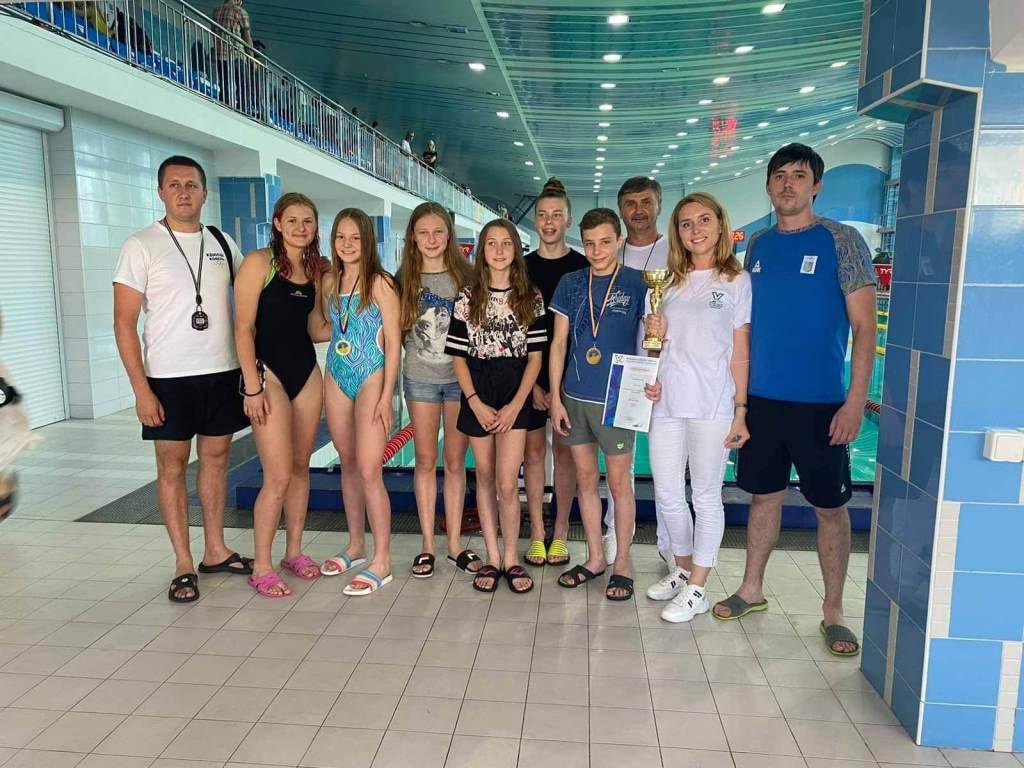 Волинські плавці здобули дві медалі чемпіонату України з плавання серед юнаків