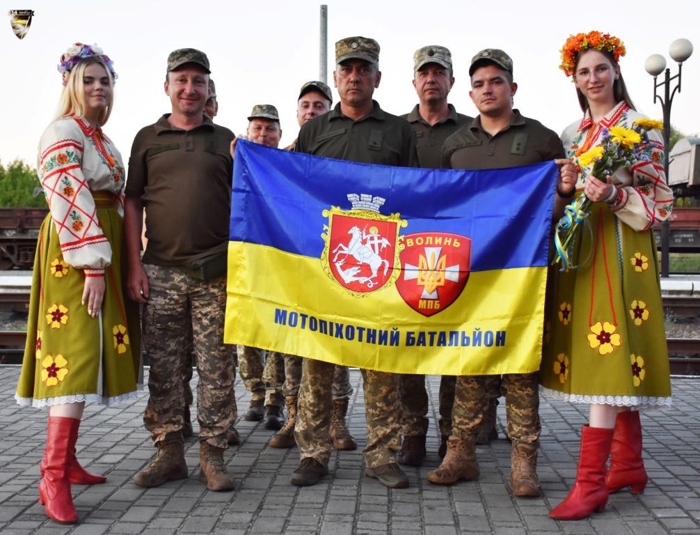 Військові волинської бригади повернулися додому з Луганщини