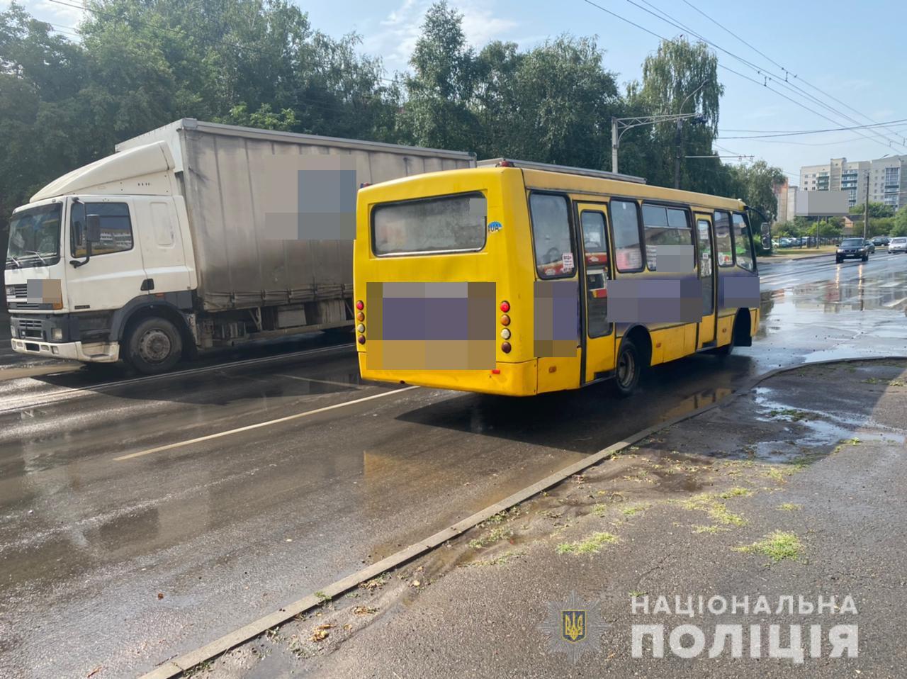 У Луцьку під колесами вантажівки загинув чоловік