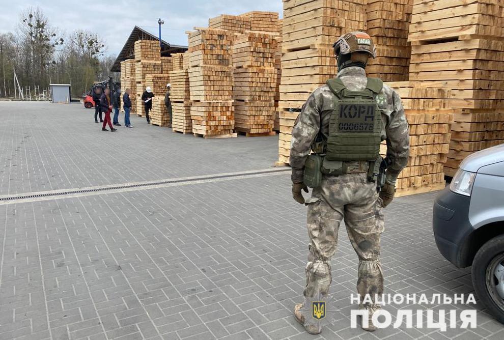 На Волині оголосили підозру службовій особі деревообробного підприємства