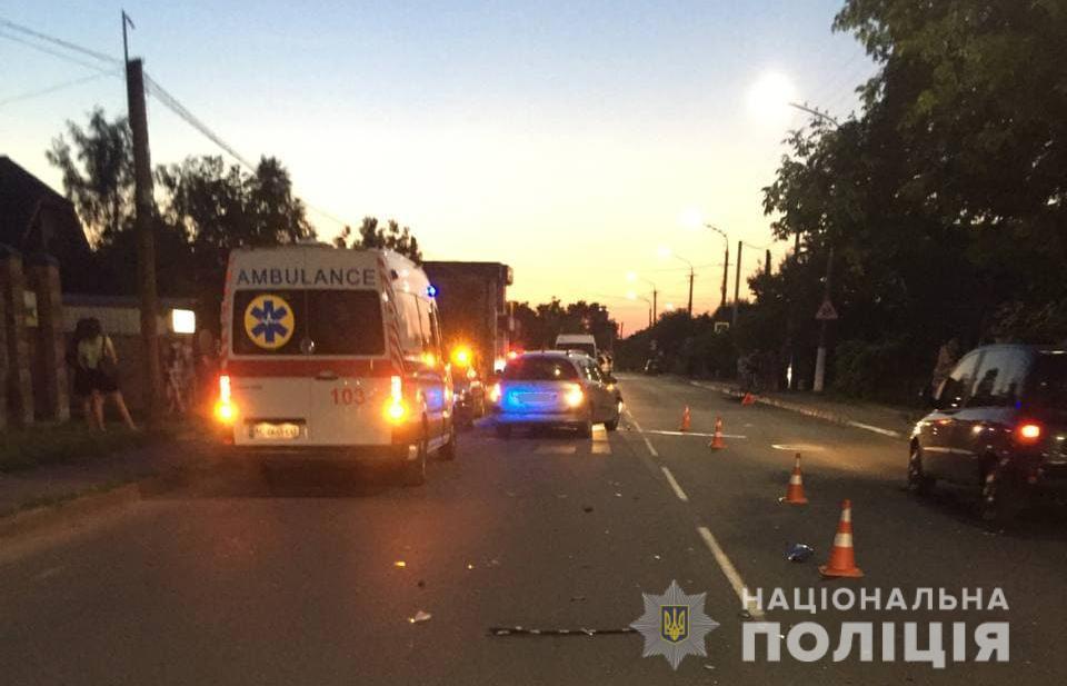 У Луцьку в ДТП загинув велосипедист