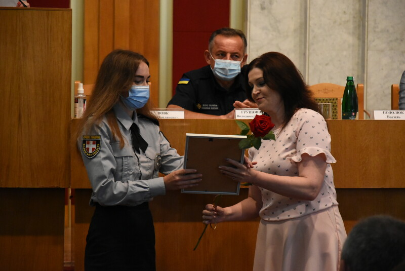 У Луцьку вітали з професійним святом поліцейських