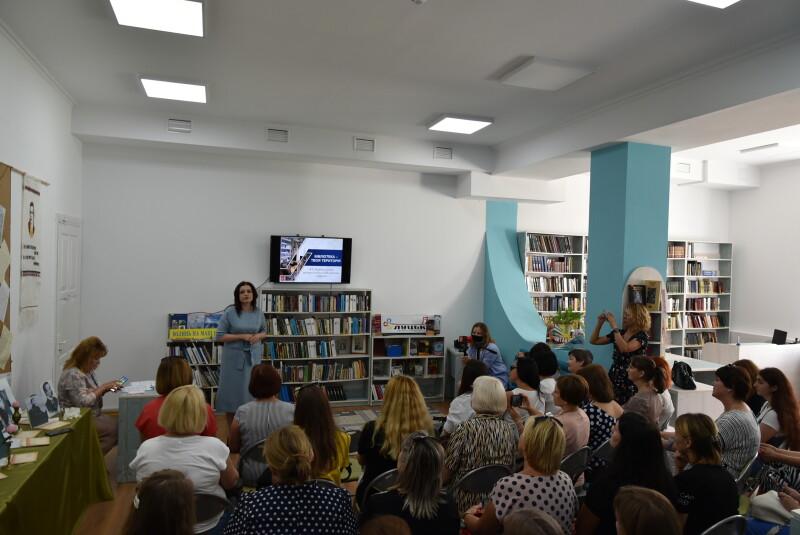 Бібліотекарі Рівненщини переймають досвід у луцьких колег